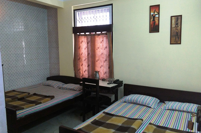 Four Bed Standard Non AC Room at Hotel Prince B, Guwahati